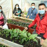 Mujeres Loínas aprenden a producir y preparar sus propios alimentos