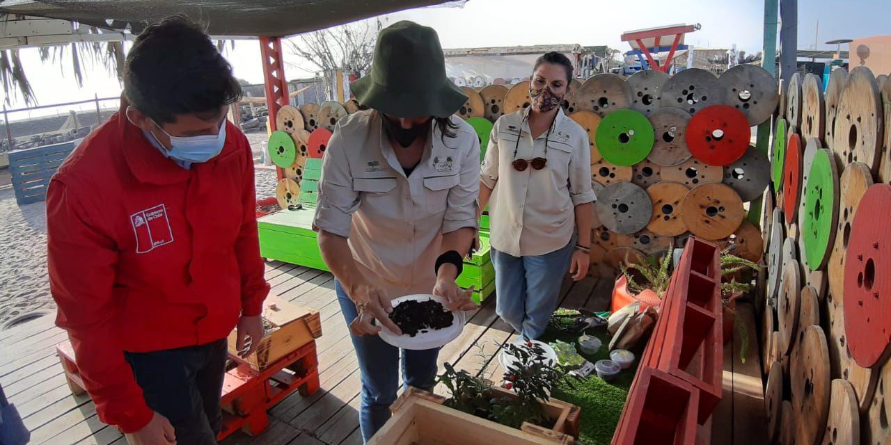 En la ruta del emprendedor verde seremi del Medio Ambiente visitó proyecto CicloRayen