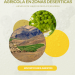 Congreso virtual abordará los desafíos hídricos para el agro en zonas desérticas