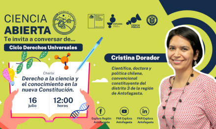Constituyente por la Región de Antofagasta participará en conversatorio sobre Derechos Universales