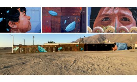 Murales Patrimoniales: Michilla se viste color al rescate de su identidad e historia
