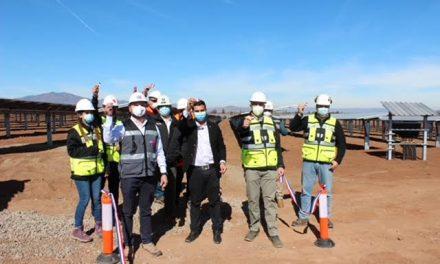 Seremi de Energía inaugura el parque fotovoltaico Ovalle Norte