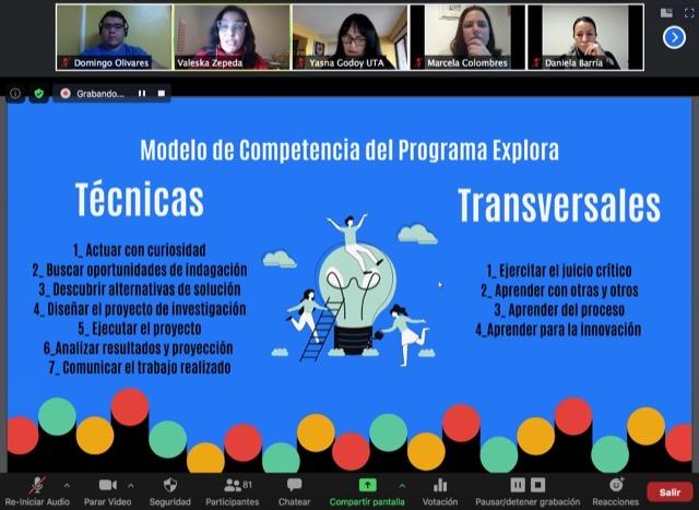Estudiantes y profesores de la región motivados por desarrollar Investigación e Innovación Escolar