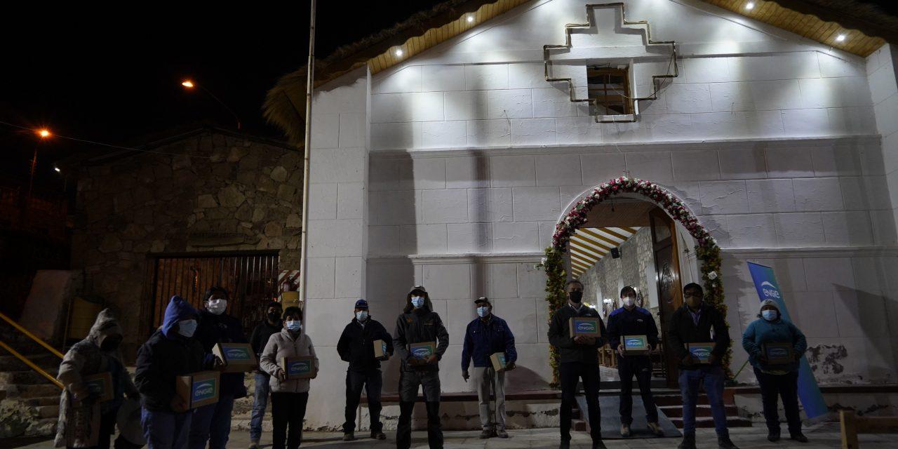 ENGIE iluminó el templo de Ayquina con energías limpias