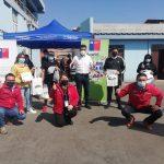 Programa Con Buena Energía capacitó sobre eficiencia energética y entregó kits de ampolletas LED a Bomberos y Cruz Roja de Tocopilla