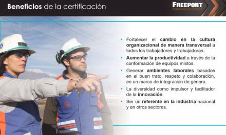 Empresas AIA conocieron experiencia de El Abra como primera minera privada en cumplir Norma Chilena de Igualdad de Género