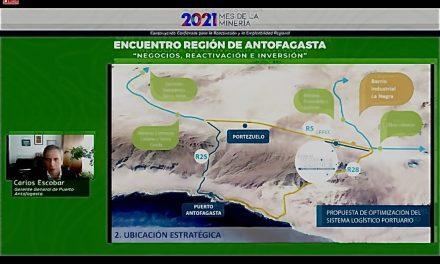 Empresa Portuaria Antofagasta fue parte del encuentro de Negocios, Reactivación e Inversión dentro del Mes de la Minería