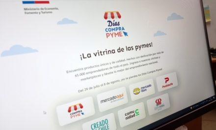 'Días Compra Pyme': Más de 65 mil pequeñas y medianas empresas de todo el país participan en nueva edición del evento de comercio digital