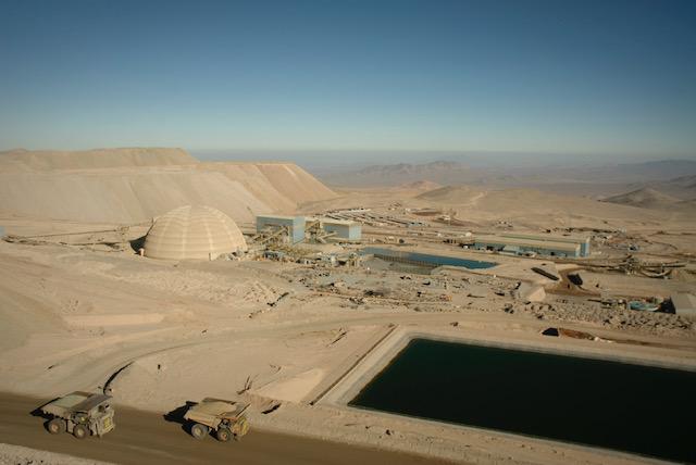 Minera Zaldívar reduce a la mitad sus emisiones de gases de efecto invernadero