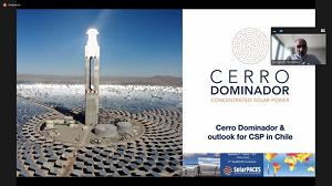Chile destaca en conferencia mundial SolarPaces 2021