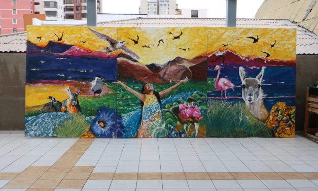 Inauguran Mural de la Biodiversidad Regional en Antofagasta