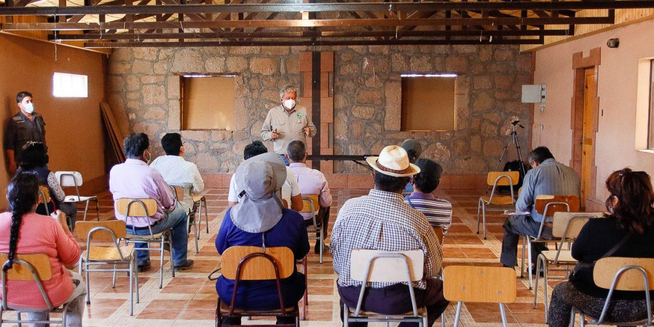 Realizan estudio de suelos agrícolas en gran parte de la Provincia El Loa