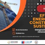 Seminario Online Eficiencia Energética y Construcción Sustentable, 04 Nov, 10 hrs